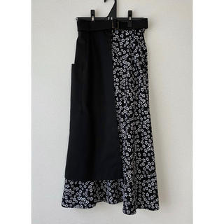 マウジー(moussy)のmoussy ラップスカート(ひざ丈スカート)