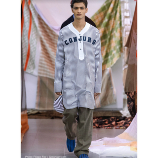 RAF SIMONS - wales bonner baseball long shirts