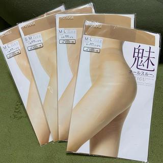 Atsugi - オールスルー ストッキング 4本セット