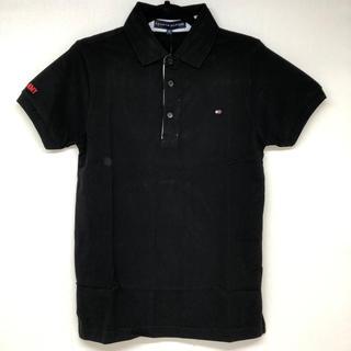 値下げ!新品★ TOMMYHILFIGER ポロシャツ ブラック Mサイズ ③
