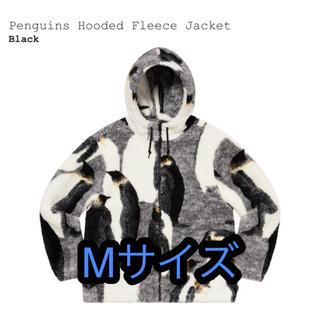 シュプリーム(Supreme)のsupreme Penguins Hooded Fleece Jacket(ブルゾン)