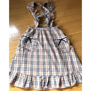 スワンキス(Swankiss)のスワンキス バーバリーチェック スカート(ひざ丈スカート)
