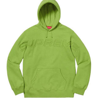 シュプリーム(Supreme)のsupreme set in logo hooded sweatshirt(パーカー)