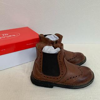 キャラメルベビー&チャイルド(Caramel baby&child )の専用○eureka エウレカ 革ブーツ&革靴セット 24(16cm)(ブーツ)