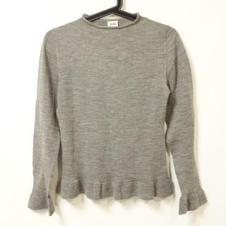 ジャンポールゴルチエ(Jean-Paul GAULTIER)のゴルチエ 長袖セーター サイズ40 M グレー(ニット/セーター)