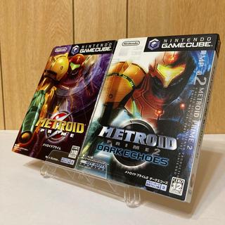 ニンテンドーゲームキューブ(ニンテンドーゲームキューブ)のGC メトロイドプライム1&2(家庭用ゲームソフト)