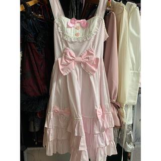 Angelic Pretty - Angelic Pretty ストライプジャンパースカート