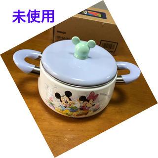 ゾウジルシ(象印)のディズニー 象印 ホーロー鍋 未使用(鍋/フライパン)