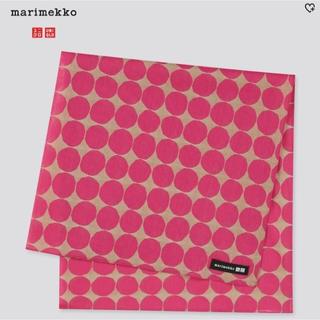 ユニクロ(UNIQLO)の【海外限定】マリメッコ×UNIQLO ミニスカーフ/新品未使用(バンダナ/スカーフ)