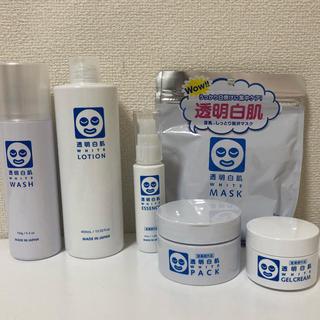 イシザワケンキュウジョ(石澤研究所)の透明白肌 薬用ホワイト ホワイトパック ホワイトマスク など6点セット(その他)