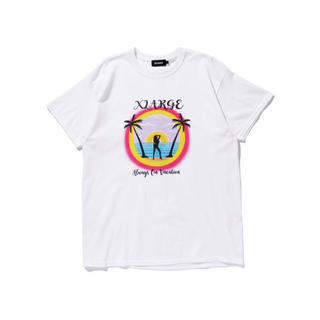 エクストララージ(XLARGE)の新品 ALWAYS ON VACATION WHITE SIZE S(Tシャツ/カットソー(半袖/袖なし))