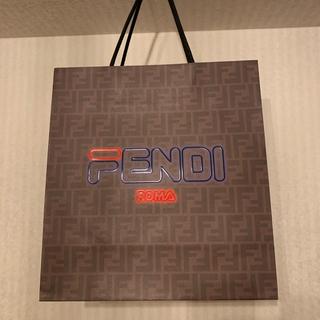 フェンディ(FENDI)のFENDI × FILA コラボ ショッパー(ショップ袋)