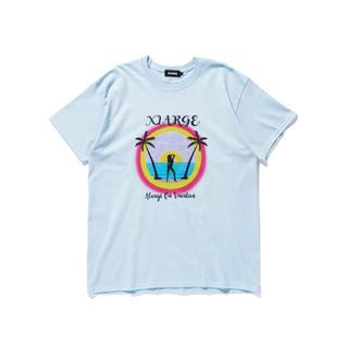エクストララージ(XLARGE)の新品 ALWAYS ON VACATION LtBLUE SIZE XL(Tシャツ/カットソー(半袖/袖なし))