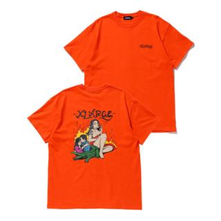 エクストララージ(XLARGE)の新品 XLARGE S/S TEE BALI SIZE S ORANGE(Tシャツ/カットソー(半袖/袖なし))
