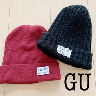 ウィゴー(WEGO)のニット帽 帽子(ニット帽/ビーニー)