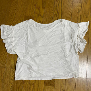 ウィゴー(WEGO)のWEGO 白トップス Mサイズ(Tシャツ(半袖/袖なし))