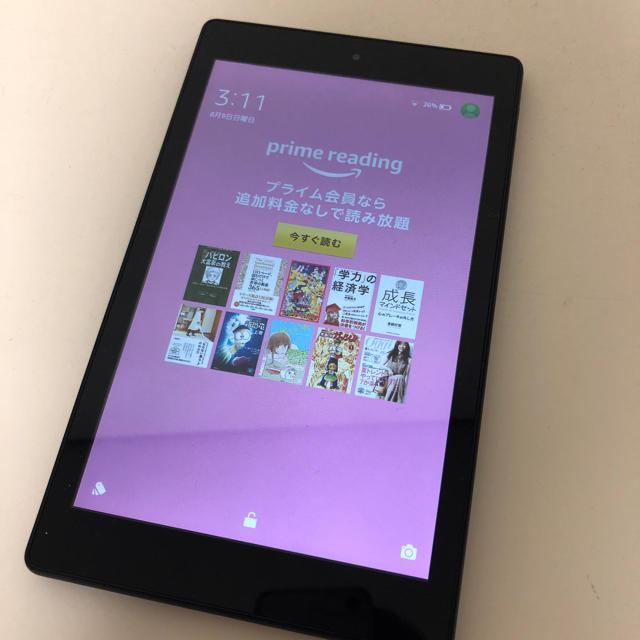 Fire HD 8 16GB (第6世代) スマホ/家電/カメラのPC/タブレット(タブレット)の商品写真