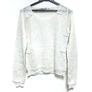 クリスチャンディオール(Christian Dior)のクリスチャンディオール 長袖セーター美品 (ニット/セーター)