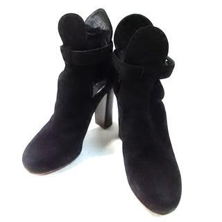 セリーヌ(celine)のセリーヌ ショートブーツ 37 レディース 黒(ブーツ)