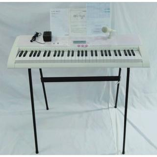 カシオ(CASIO)の【美品】CASIO 光ナビゲーションキーボード(61鍵盤) LK-107(キーボード/シンセサイザー)