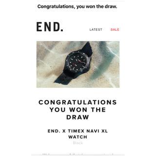 タイメックス(TIMEX)のタイメックス END. END.×Timex XL(腕時計(アナログ))