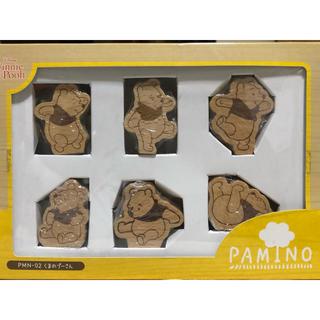 Disney - パミノ ディズニー プーさん 積み木 木の玩具 知育玩具