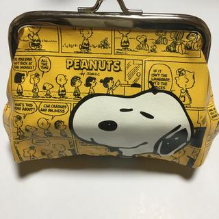 スヌーピー(SNOOPY)のスヌーピーがま口財布(財布)