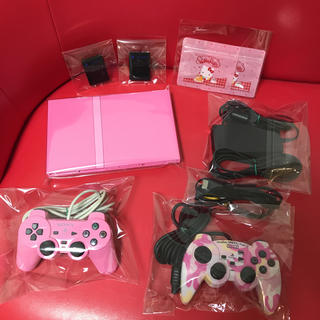 PlayStation2 - 【超可愛いセット】【レア商品】♡PS2 本体 PS2 77000 ピンク♡