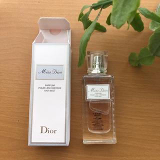 ディオール(Dior)のDior ミスディオール ヘアミスト30ml 残量9.5割(ヘアウォーター/ヘアミスト)