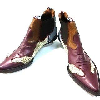 ミュウミュウ(miumiu)のmiumiu(ミュウミュウ) ショートブーツ 36(ブーツ)