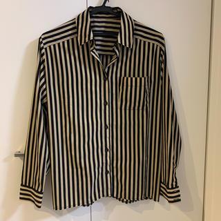 マウジー(moussy)のmoussyストライプシャツ(シャツ/ブラウス(長袖/七分))