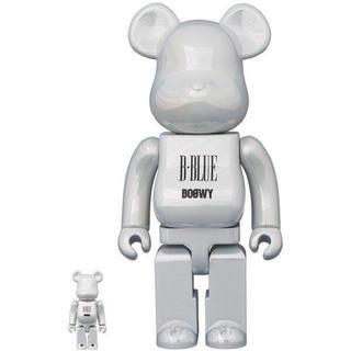 """メディコムトイ(MEDICOM TOY)のBE@RBRICK BOOWY """"B・BLUE"""" 100% & 400%(ミュージシャン)"""