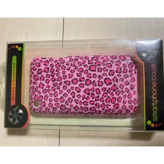 ハローキティ(ハローキティ)の新品 ヒョウ柄 ピンク ギャル風 スマホケース(Androidケース)