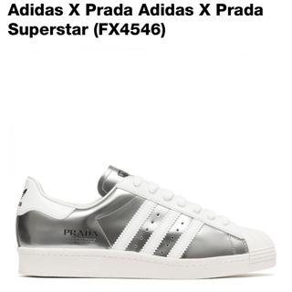 プラダ(PRADA)の26.5cm PRADA adidas superstar silver (スニーカー)