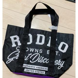 ロデオクラウンズワイドボウル(RODEO CROWNS WIDE BOWL)のRCWB ノベルティー 新品未使用(トートバッグ)