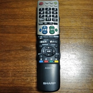 アクオス(AQUOS)のシャープ アクオス テレビリモコン GB031WJSA(テレビ)