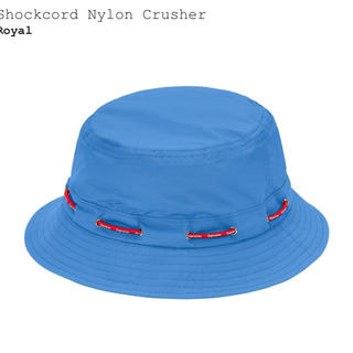 シュプリーム(Supreme)のsupreme Shockcord Nylon Crusher(ハット)