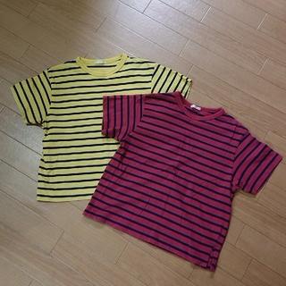 GU - GU 半袖 130サイズ 2枚セット