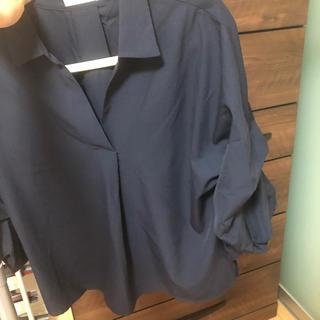 エージーバイアクアガール(AG by aquagirl)のAG ネイビーシャツ(シャツ/ブラウス(長袖/七分))