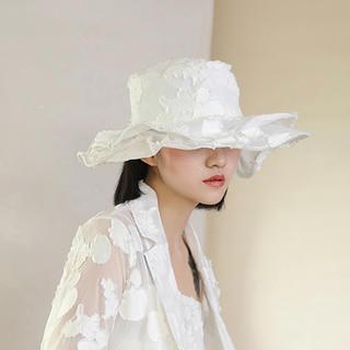コムデギャルソン(COMME des GARCONS)のコムデギャルソン レイヤード 帽子(ハット)