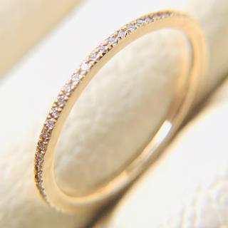 ココシュニック(COCOSHNIK)のココシェニック k10 ダイヤモンド フルエタニティー k18 好きにも!(リング(指輪))