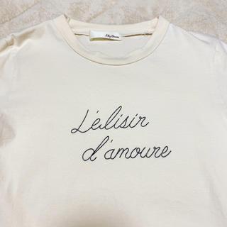 リリーブラウン(Lily Brown)のリリーブラウン 韓国 Tシャツ トップス(Tシャツ(半袖/袖なし))