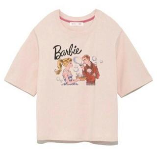リリーブラウン(Lily Brown)のリリーブラウン♡バービーコラボTシャツ(Tシャツ(半袖/袖なし))