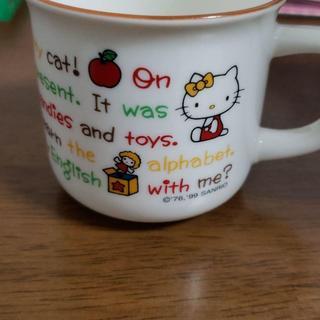 サンリオ(サンリオ)の★レトロ!キティのマグカップ★(グラス/カップ)