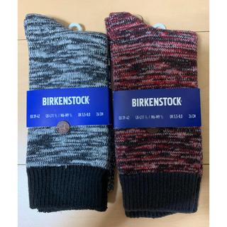 ビルケンシュトック(BIRKENSTOCK)のビルケンシュトック BIRKENSTOCKの靴下2P(ソックス)