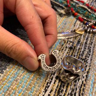テンダーロイン(TENDERLOIN)のテンダーロイン 10号 ホースシュー リング ダイヤ(リング(指輪))
