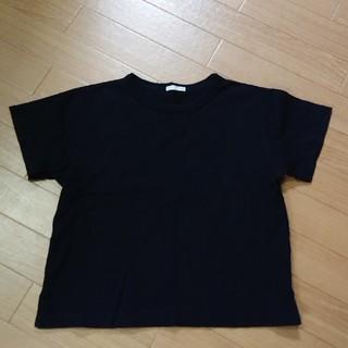 GU - GU 半袖 130 黒