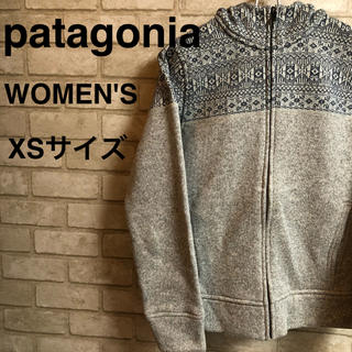 パタゴニア(patagonia)のpatagonia パーカー レディース XSサイズ(パーカー)