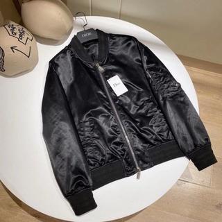 ディオール(Dior)のDior ブルゾン ジャケット サドルパッチ ボンバー ブラック 限定(テーラードジャケット)