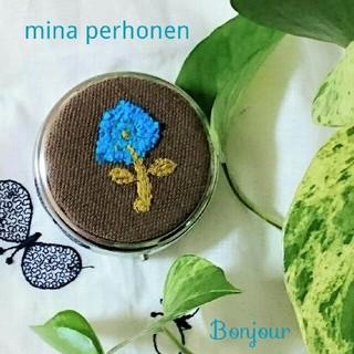 ミナペルホネン(mina perhonen)のmina perhonen 青い花 ピルケース(その他)